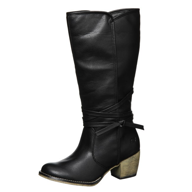 51fdb705fda Shop Skechers USA Women s  Gallop-Ammo  Knee-high Boots - Free Shipping  Today - Overstock - 4421680