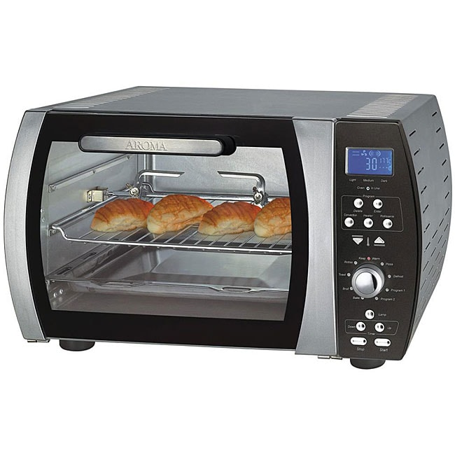 Shop Aroma Stainless Steel Programmable Digital Toaster