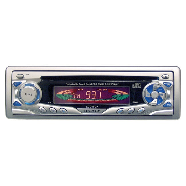 Legacy LCD15DX CD Player w/Detachable Face
