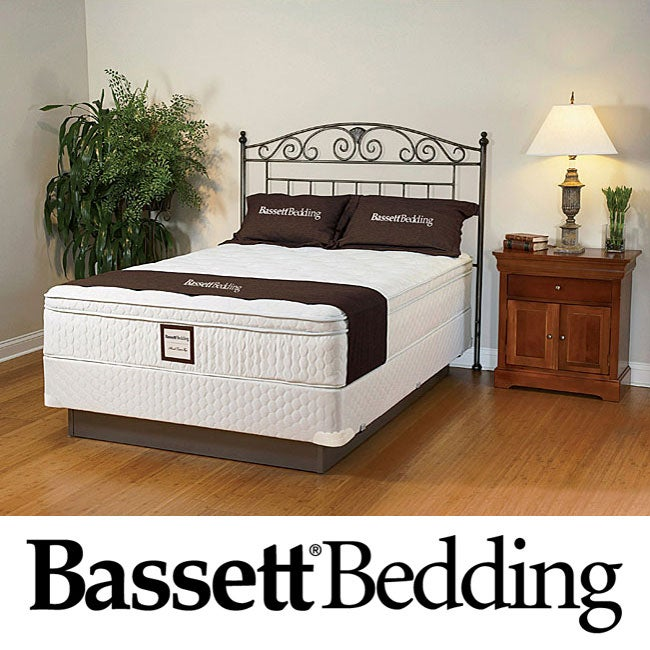 Bassett Dawnwood Euro-top Twin-size Mattress Set