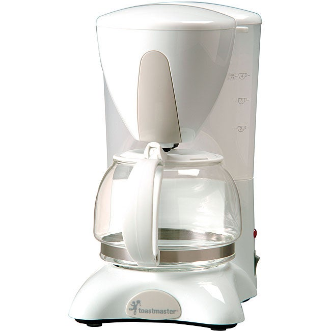 Toastmaster Coffee Maker K Cup : Toastmaster 4-cup Automatic Drip White Coffee Maker - Free Shipping On Orders Over USD 45 ...