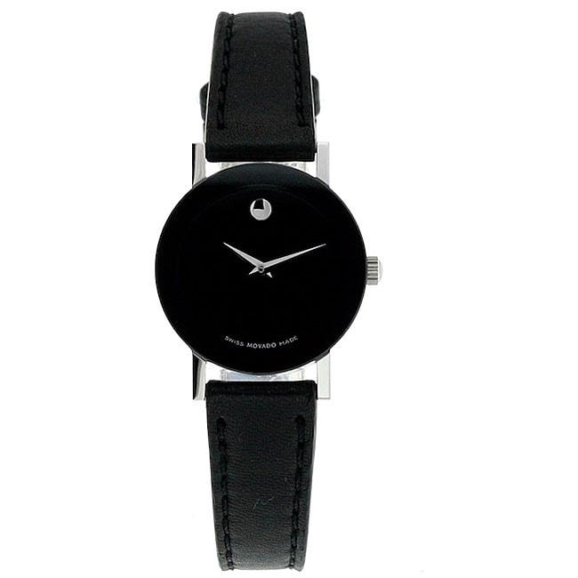 Movado Women's Sapphire Black Watch