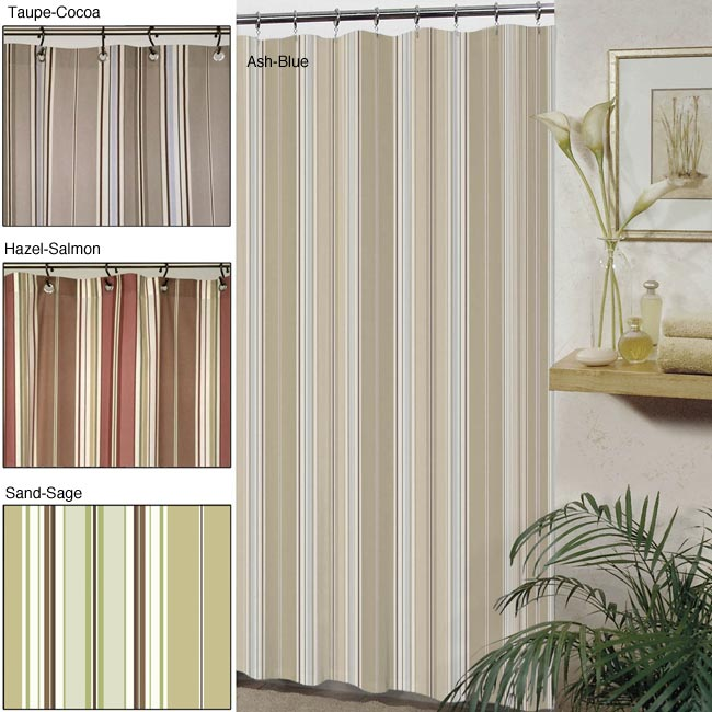 Westone Madison Stripes Shower Curtain