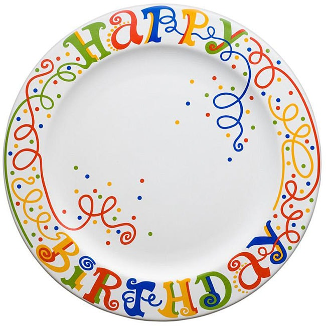 Waechtersbach Happy Birthday Gift Boxed Plate And Pen