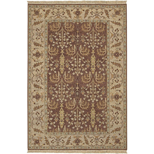 Artistic Weavers Hand-knotted Legacy New Zealand Wool Rug...
