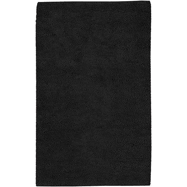 Hand-woven Olympus New Zealand Felted Wool Area Rug (4' x 10') - 4' x 10'
