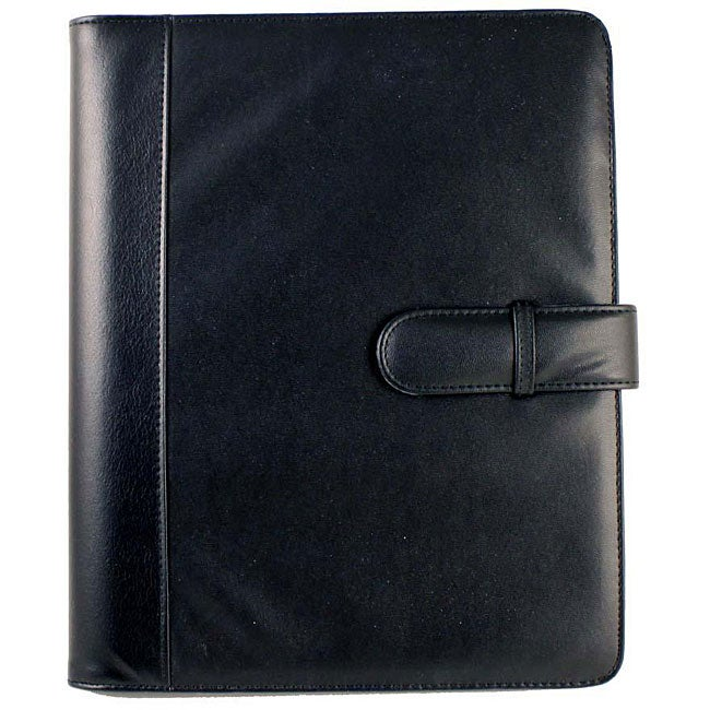 PlanAhead Black Professional Business Project Manager Padfolio