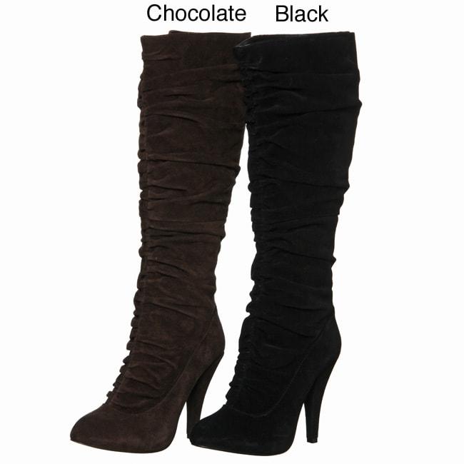 Kelsi Dagger Women's 'Iona' Knne-high Scrunch Boots