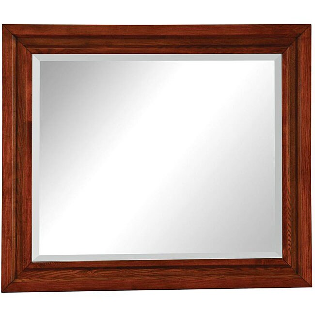 Hudson Mocha Dresser Mirror