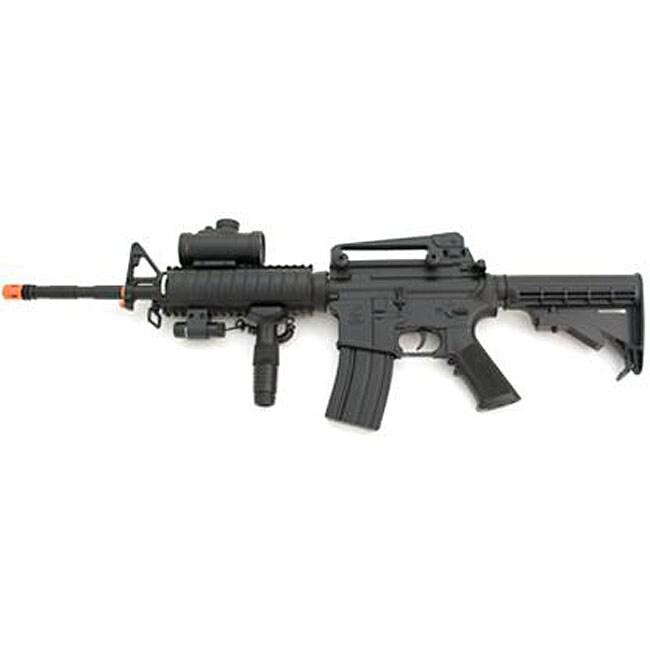 AEG Electric M16 Assault Rifle Laser Airsoft Gun