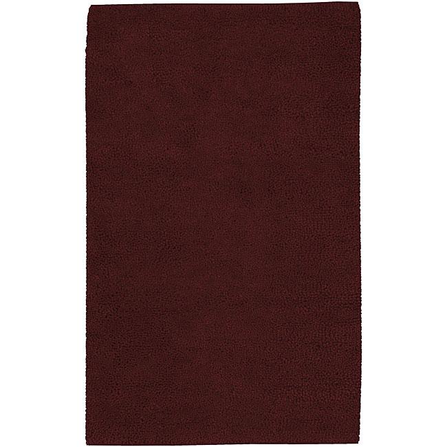SURYA Hand-woven Olympus Felted New Zealand Wool Rug (2'6...