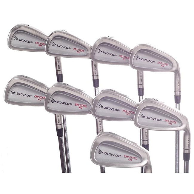 Dunlop Pro Steel 431 Iron Set (3-PW SW)