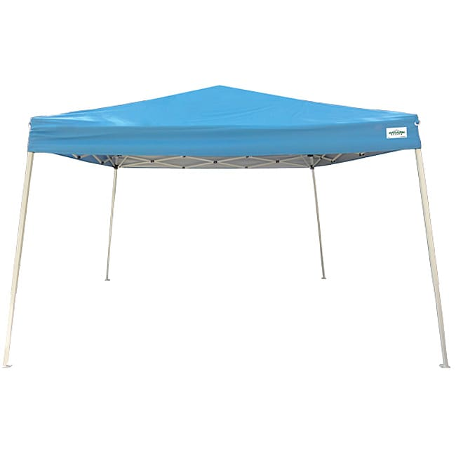 Cirrus 2 Blue Polyester Canopy Tent Kit with Steel Frame (12' x 12') - Thumbnail 0