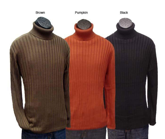 Shop Anthology Mens Ribbed Turtleneck Sweater Free Shipping On