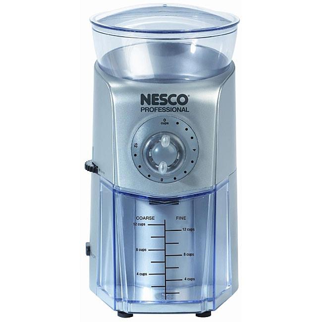 Nesco BG-88 17-setting Professional 12-cup Burr Grinder