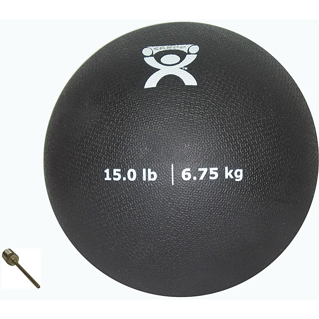 Cando 15-pound Weighted Physical Therapy Ball