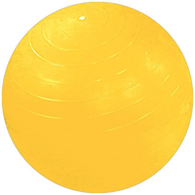 Cando Inflatable 59-inch Yellow Exercise Sensi-Ball - Free ...
