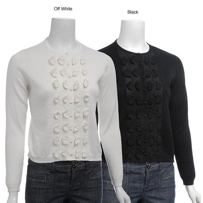 Elio Women's Long-sleeve Cardigan Sweater