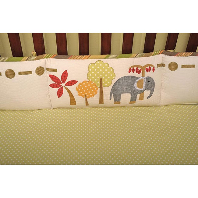 Cotton Tale Elephant Brigade Fitted Sheet