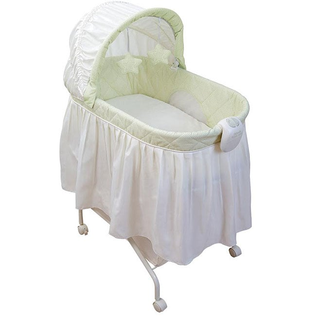 Kolcraft Tender Vibes Travel Bassinet with Music