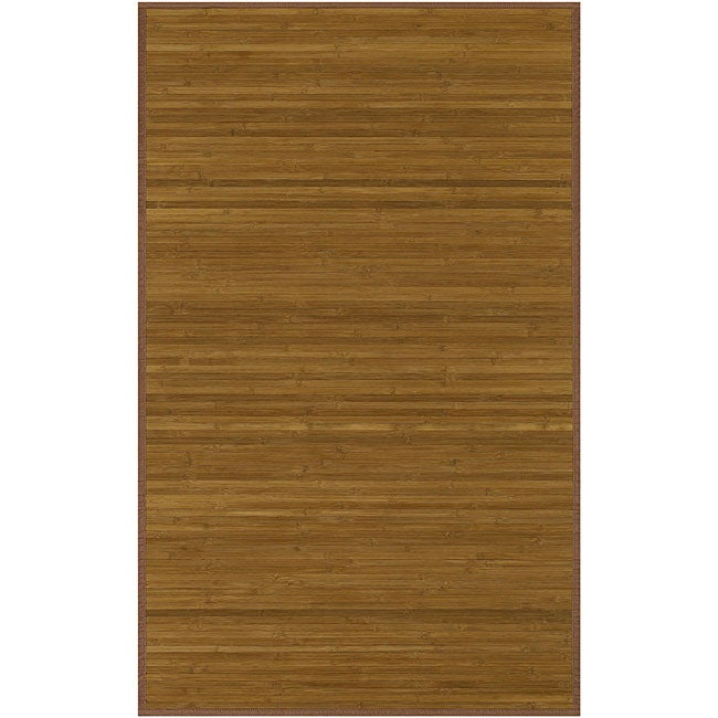 Hand-woven Patras Rayon from Bamboo Rug (5' x 8')