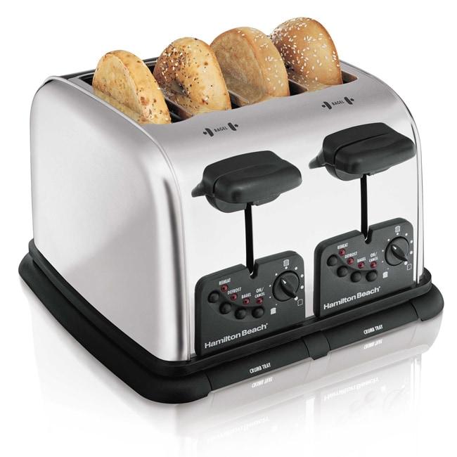Hamilton Beach Extra Wide Slot 4 Slice Toaster