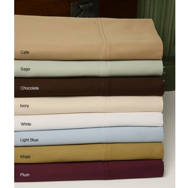 Imperial 330 Thread Count Imperial Cotton 4-piece Sheet Set