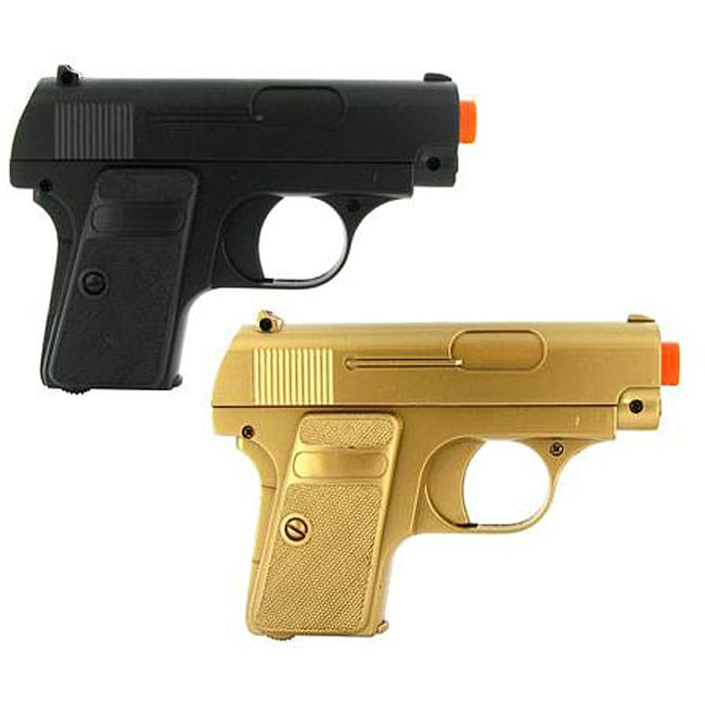 Double Eagle Twin P328 Spring Pocket Airsoft Guns