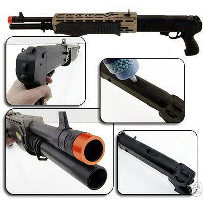Spring SPAS FPS-200 Pistol Grip Airsoft Shotgun
