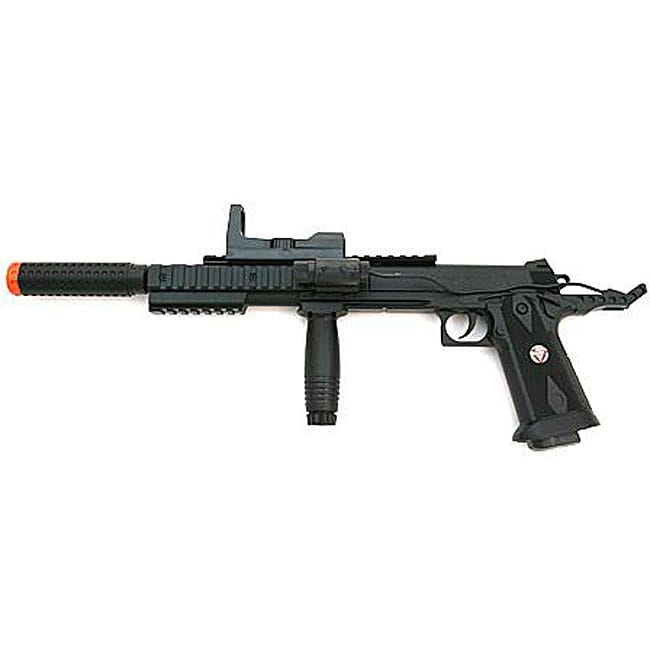 Spring Pistol FPS-200 Silencer Scope Laser Airsoft Gun