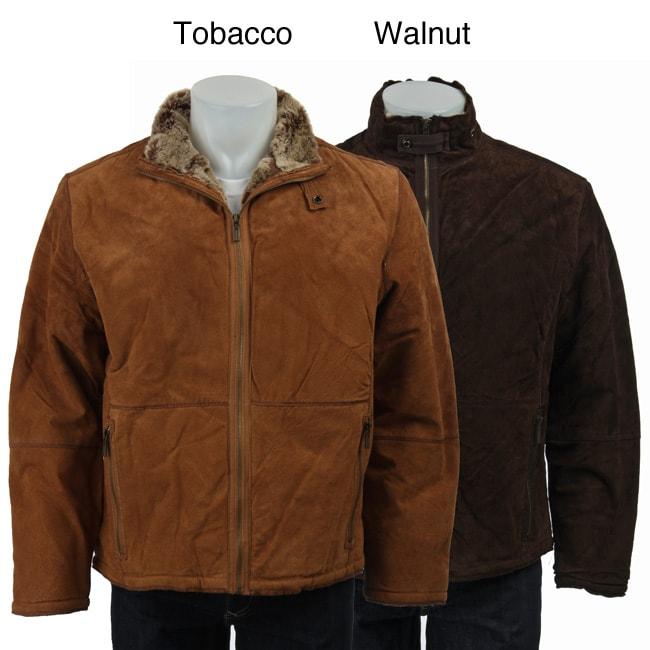 Robert Comstock Men's Leather Jacket