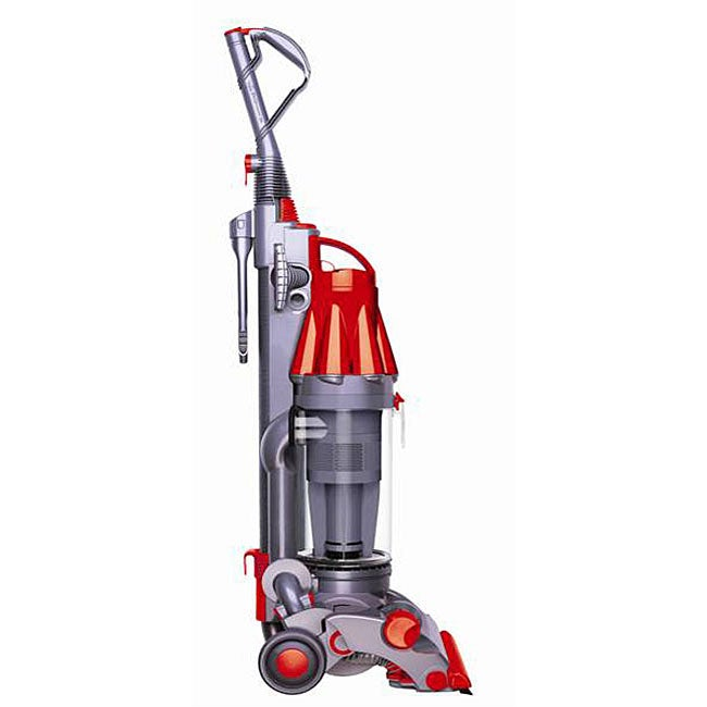 Dyson Dc07 Steel All Floors Red Vacuum Refurbished