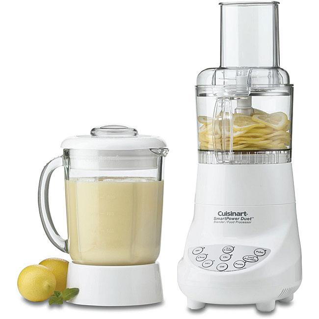 Cuisinart BFP-703 White Blender/ Food Processor (Refurbished)