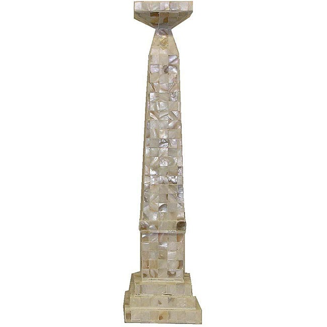 Mother of Pearl 22-inch Candle Stand