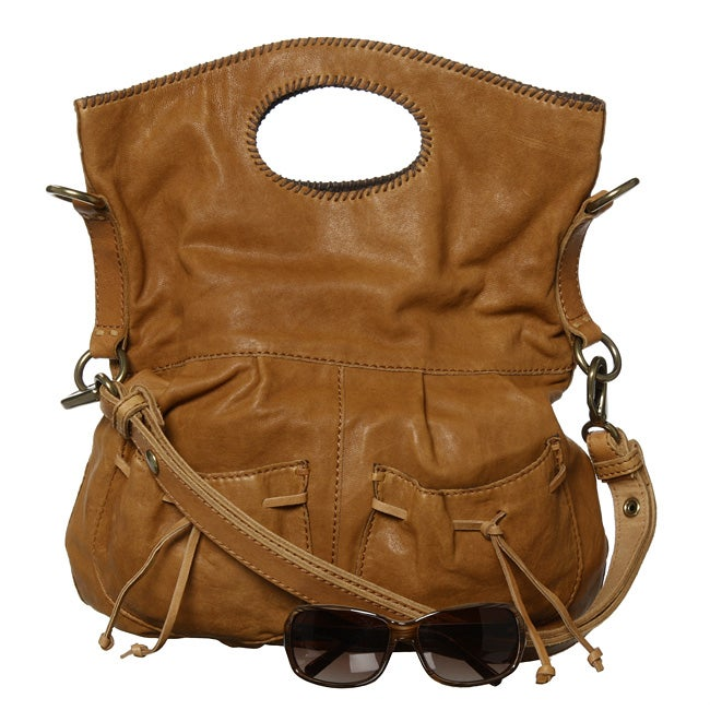 Lucky Brand 'The Wanderer' Leather Hobo Bag