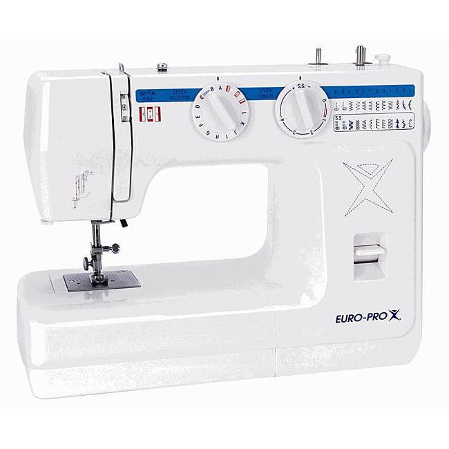 Euro pro 50 stitch electronic sewing machine free for Euro pro craft n sew