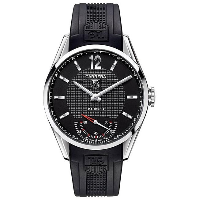 a38d1bf25ed Shop Tag Heuer Men's Grand Carrera Automatic Watch - Free Shipping Today -  Overstock - 4486151