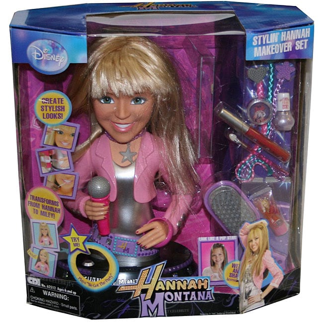 Shop Hannah Montana Stylin Hannah Makeover Set Free Shipping On Orders Over 45