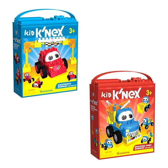 Kid K'nex Building Zone / Racetrack Buddies