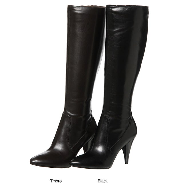 13843c1435e6 Shop Via Spiga Women's 'Shanti' Leather Knee-high Boots - Free Shipping  Today - Overstock - 4491217