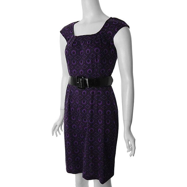 DBY Ltd. Brand Women's Belted Dress