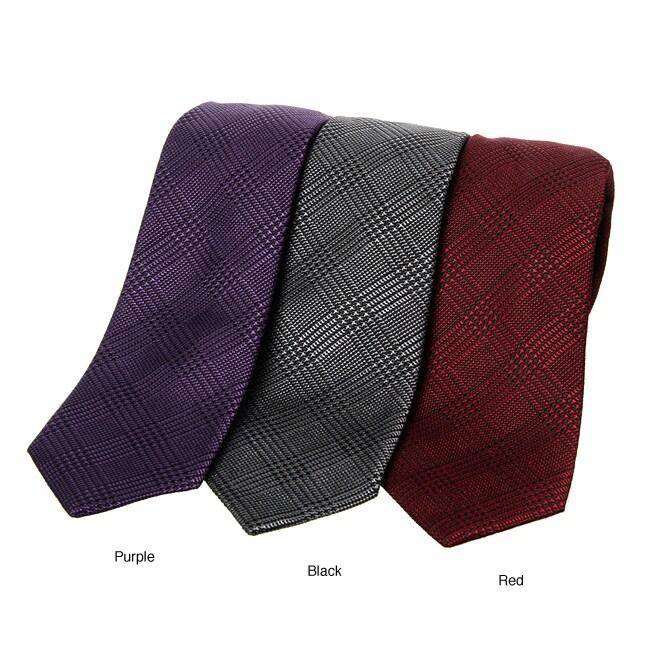 Ben Sherman Men's Glen Plaid Tie