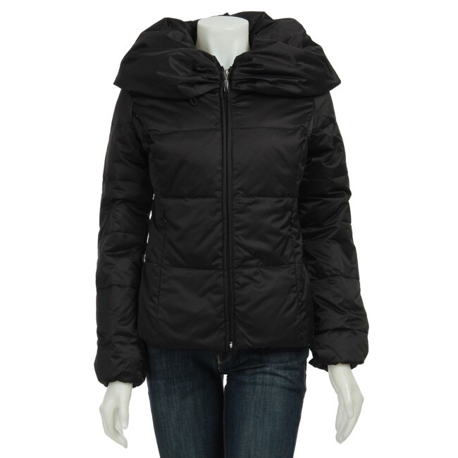 d6112fea0521 Shop Nine West Women s Black Down Jacket - Free Shipping Today ...
