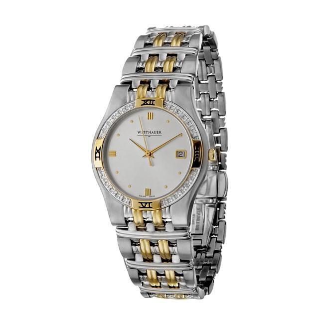 Wittnauer Men's Laureate Stainless Steel Quartz Watch