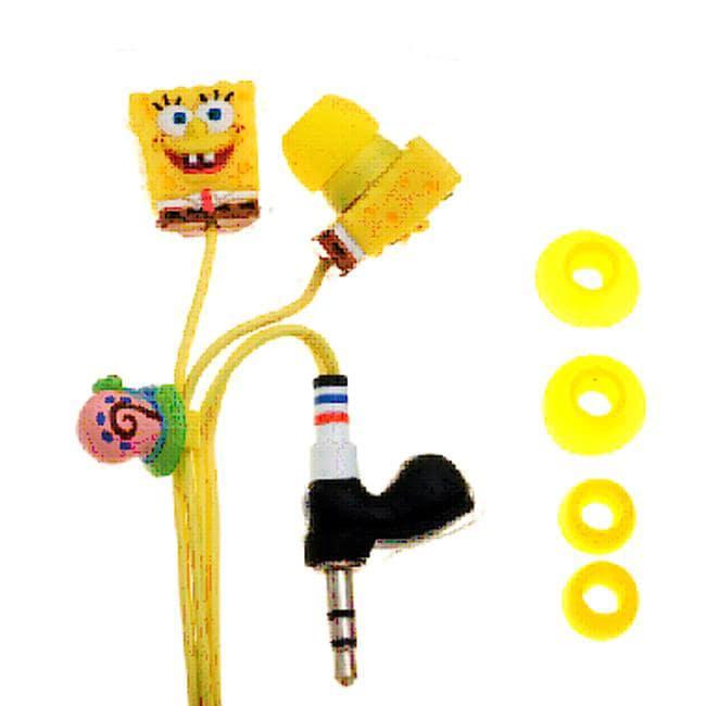 Spongebob Squarepants 3D Sculpted Earbud Headphones