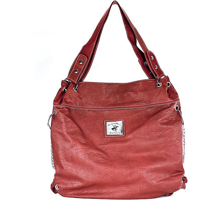 Beverly Hills Polo Club Red Tote Bag