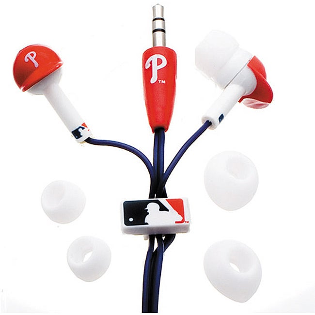 Nemo Digital MLF10114PHL MLB Philadelphia Phillies Helmet Headphones