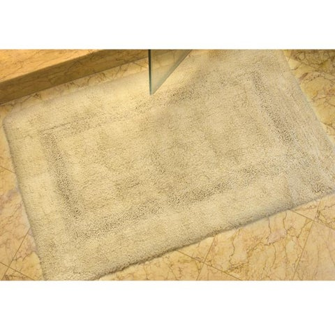 "Safavieh Set of 2 Spa Soft Beige 2400-gram Bath Mats (1'9 x 2'10) - 1'9"" x 2'10"""