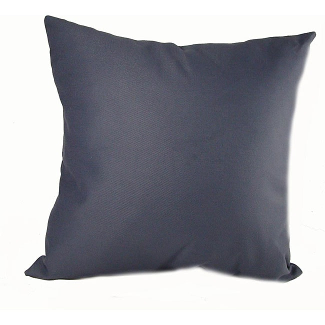 Ultra Twill 16-inch Throw Pillows (Set of 2)