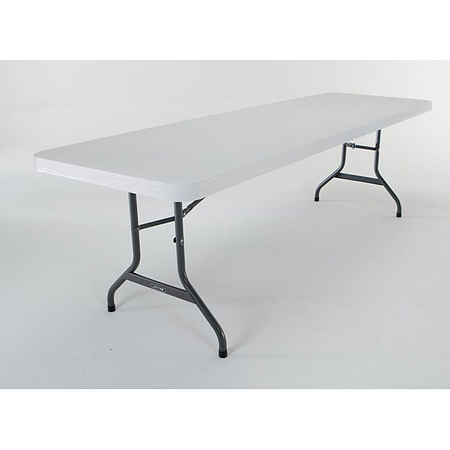 Shop Lifetime 8 Foot Folding Banquet Tables Pack Of 4